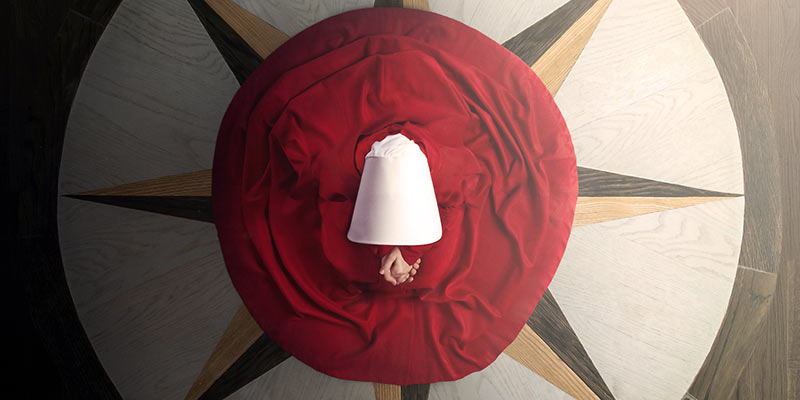 The-Handmaids Tale. Key Art Hulu