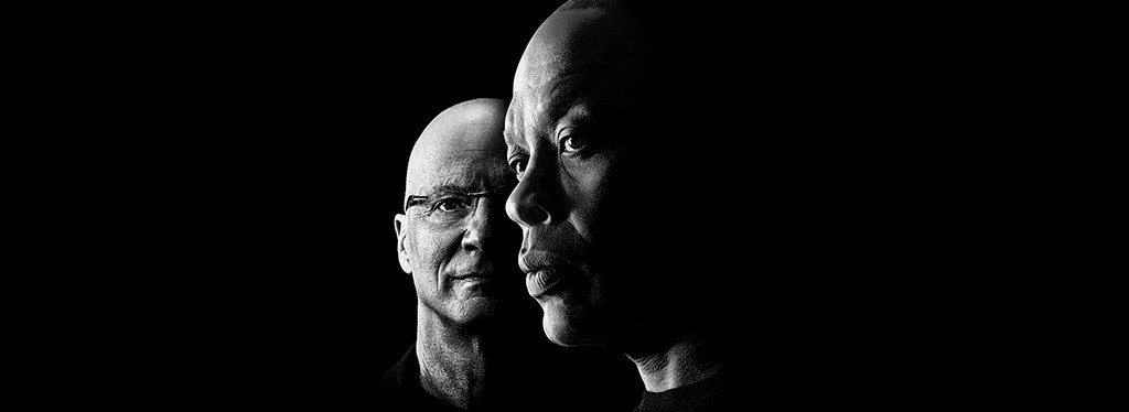 "Jimmy Iovine and Dr. Dre, featured in HBO's documentary ""The Defiant Ones"""